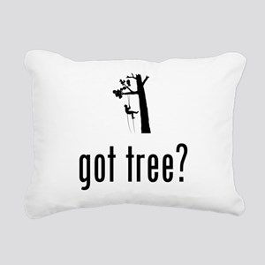 Tree Climbing Rectangular Canvas Pillow