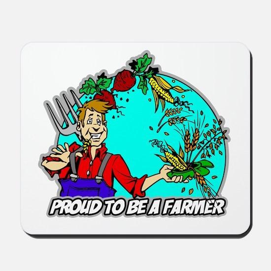 Proud Farmer Mousepad