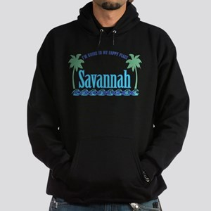 Savannah Happy Place - Hoodie (dark)