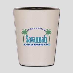 Savannah Happy Place - Shot Glass