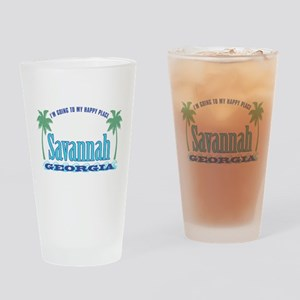 Savannah Happy Place - Drinking Glass