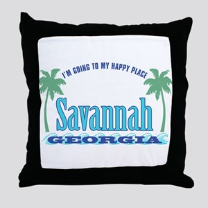 Savannah Happy Place - Throw Pillow