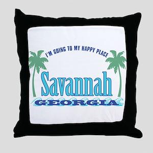 Savannah Happy Place - Throw Pillow