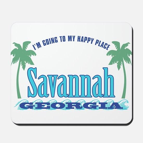 Savannah Happy Place - Mousepad