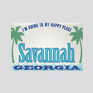 Savannah Happy Place - Rectangle Magnet