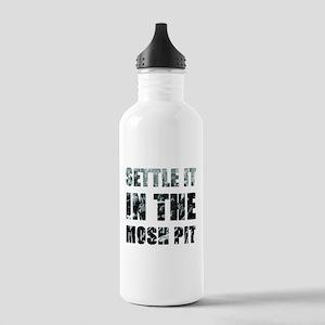 Settle It In The Pit Water Bottle