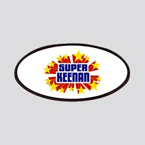 Keenan the Super Hero Patches