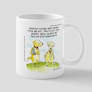 Yellow Dog Democrats The NSA Mug