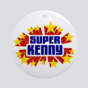 Kenny the Super Hero Ornament (Round)
