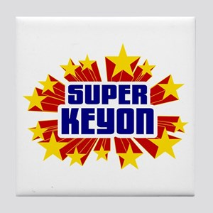 Keyon the Super Hero Tile Coaster