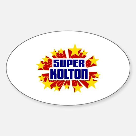 Kolton the Super Hero Decal