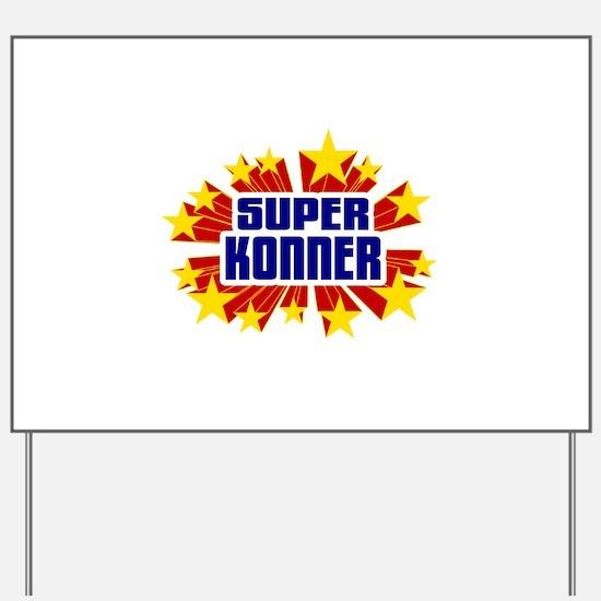 Konner the Super Hero Yard Sign