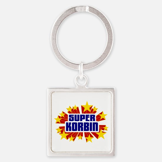 Korbin the Super Hero Keychains