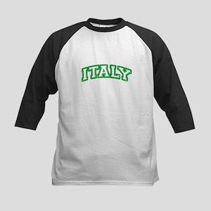 Team Italy (editable number) Kids Baseball Jersey