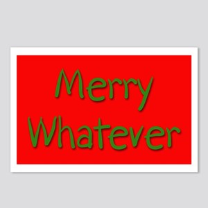 Merry Whatever Postcards (Package of 8)