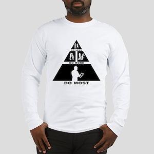 Tablet PC User Long Sleeve T-Shirt