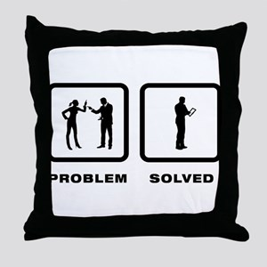 Tablet PC User Throw Pillow
