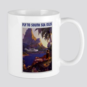 Vintage South Sea Isles Travel Mug