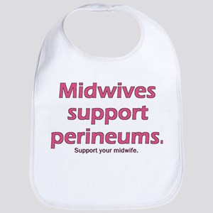 """""""Midwives Support"""" Bib"""