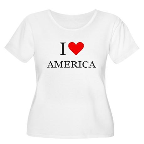 I Heart America Plus Size T-Shirt
