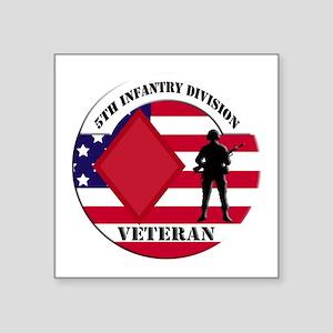 5th Infantry Division Veteran Sticker