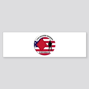 5th Infantry Division Veteran Bumper Sticker