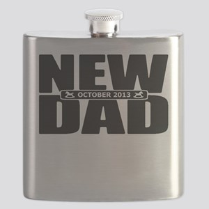 October 2013 New Dad Flask