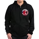 5th infantry division coats Zip Hoodie (dark)