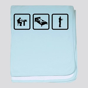 Tablet PC User baby blanket