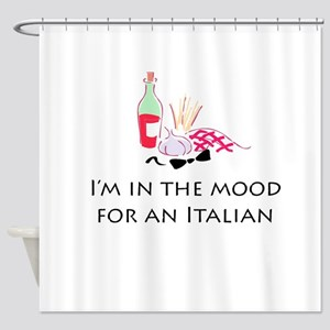 In the Mood for An Italian Shower Curtain
