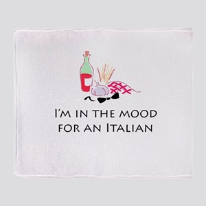 In the Mood for An Italian Throw Blanket