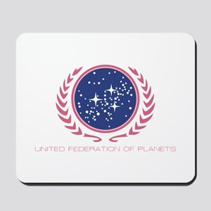 Star Trek United Federation of Planets Pink Mousep