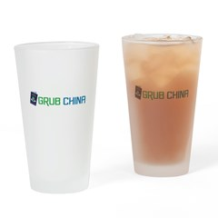 Grub China 2 Drinking Glass