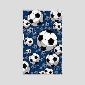 Soccer 3'X5' Area Rug