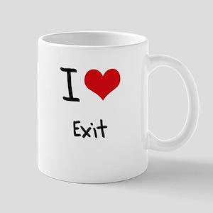 I Love Exit Mug