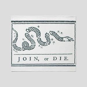 Join, or Die™ Throw Blanket