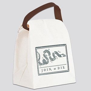Join, or Die™ Canvas Lunch Bag