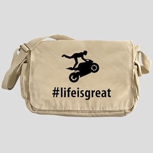 Stunt Rider Messenger Bag