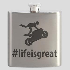 Stunt Rider Flask