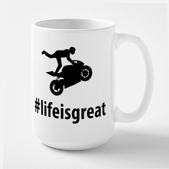 Stunt Rider Large Mug