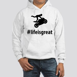 Stunt Rider Hooded Sweatshirt