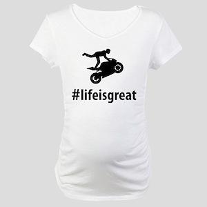 Stunt Rider Maternity T-Shirt