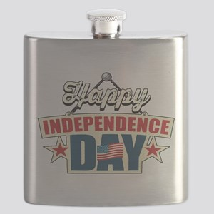 Happy Independence Day Flask
