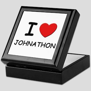 I love Johnathon Keepsake Box