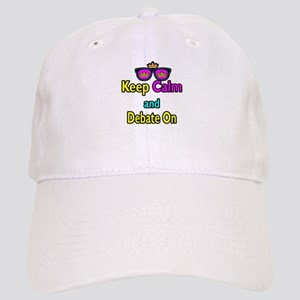 Crown Sunglasses Keep Calm And Debate On Cap