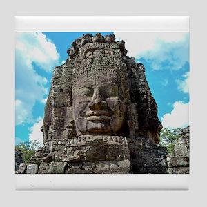 Smiling Buddha Tile Coaster