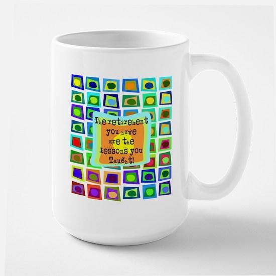 Retired Teacher PILLOW Funky Mug