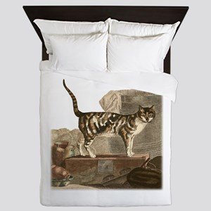 Calico Cat Queen Duvet