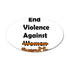 End Violence Against Everyone Wall Decal