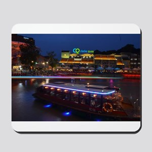 Night life , Clarke Quay- Singapore ! Mousepad